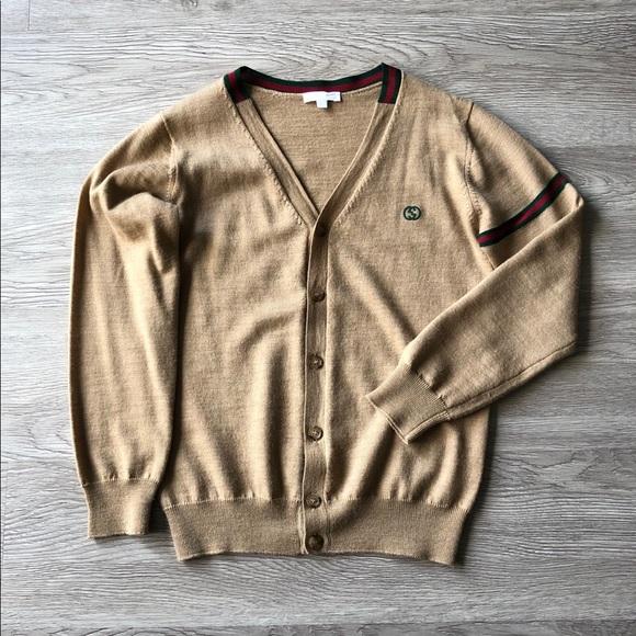 9cc4af56 Gucci Shirts & Tops | Cashmere Kids Cardigan | Poshmark